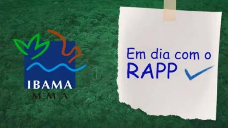 IBAMA PRORROGA PRAZO DE ENTREGA DO RAAP